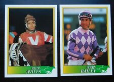 1993 Horse Racing Jockey Star Cards