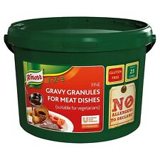 Knorr Gluten Free Gravy Granules for Meat Dishes GLUTEN FREE 1.88kg