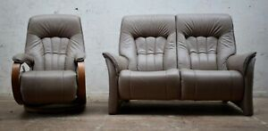 HIMOLLA CUMULY 2 PIECE SUITE - RHINE 2 SEATER SOFA & MOSEL RECLINING CHAIR