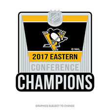 2017 Stanley Cup Eastern Conference Champion Pittsburgh Penguins Lapel Pin