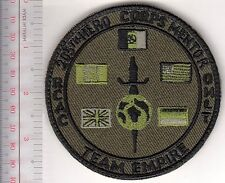Canada Army US UK Netherlands Afghanistan 205th HERO Corps Mentor VEL HOOKS CRO