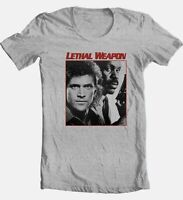 Lethal Weapon T-shirt retro 80s movie Free Shipping cotton graphic grey tee