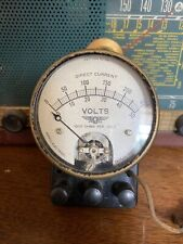 Vintage Pattern No 116 DC Output Meter by Jewel Electrical
