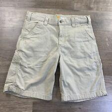 Carhartt Men's Relaxed Fit Shorts 102514-232 Khaki SZ 33