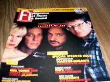 FI THE MAGAZINE OF MUSIC AND SOUND DAVID HARRINGTON SPEAKER ISSUE NOVEMBER 1997