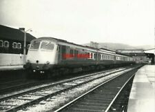 PHOTO  SOUTH WALES PULLMAN METROPOLITAN CAMMELL CLASS 251 8-CAR BLUE PULLMAN DMU