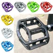 Pair Universal Mountain Road Bike Pedal Large Wide Aluminum Alloy Bicycle Pedals