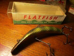 "Helin Musky Flatfish in the box 6"""