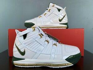 "Nike LeBron 3 III QS ""SVSM Home"" 2019 Men's Size 14 AO2434-102"