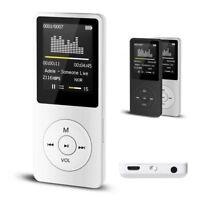 Fashion Portable MP3 MP4 Player LCD Screen FM stereo Radio Video Movie Mic 2018