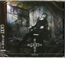 GACKT-ORIGINAL SIN-JAPAN CD+DVD Ltd/Ed D73