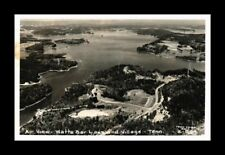 DR JIM STAMPS US AERIAL VIEW WATTS BAR LAKE TENNESSEE REAL PHOTO RPPC POSTCARD