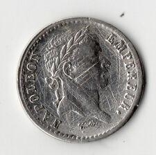 TRES RARE 1/2 FRANC NAPOLEON EMPEREUR ARGENT 1813 T ( NANTES ) @ PETIT TIRAGE