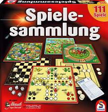 BÜ) Schmidt Spiele Sammlung 111 Spielesammlung mit Kniffel u. Mensch ärgere Dich