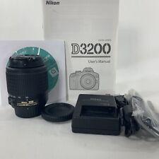Nikon Nikkor 55-200mm f/4.0-5.6 AF-S DX G ED Lens - Black With Charger