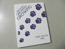 1985 Tallassee High School Yearbook Annual Tiger Tracks Tallassee AL Alabama
