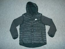 NIKE 614665 AEROLOFT TECH FLEECE MENS LARGE 800 DOWN FILL HOODED JACKET       A3