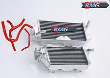 Aluminum Radiator For 2009-2012 Kawasaki KXF450  KX 450F KX450F 2010 2011 + Hose