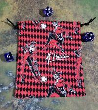 DC Harley Quinn Hi Puddin Dice Bag, Card Bag, Makeup Bag