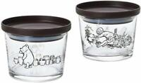 Disney Winnie tha pooh Classic Pooh Stack Mini Container 2 Set Made in Japan
