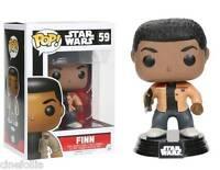 Figura vinile Finn Star Wars VII Pop Funko bobble-head Vinyl figure n° 59
