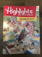 VINTAGE Highlights For Children Magazine The Monthly Book December 1995