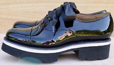 Grenson Velma black patent leather lace up Oxfords UK 6 EU 39 BNIB RRP £240