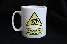 Caution Strong Coffee Office Work Bio Hazard Gift Mug