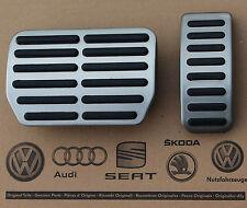 Audi A8 4E S8 D3 W12 pedal caps pedal set covers for automatic cars OEM