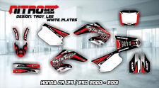 Honda CR 125 / 250 2000 - 2001 Grafik Dekor Set Graphics Kit Decals Design