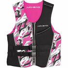 Airhead Camo Cool NeoLite Kwik-Dry Women's Pink Life Vest, Small (15003-08-B-PI)