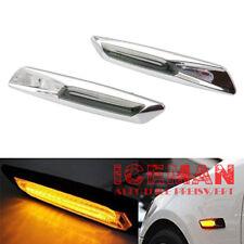LED Seitenblinker Seiten Blinker Lampe BMW 1er E81 E82 E87 E88 X1 E84 Chrom 2009