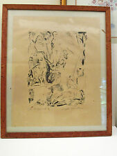 "L/ED PRINT 2/10 ""AFTER FRAGONARD"" BY DOUGLAS CLAY HOUCHENS - DAVIDSON COLLEGE"
