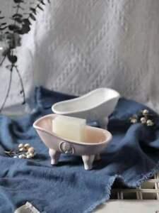 Vintage Clawfoot Tub Bathtub Soap Dish Holder for Bathroom Shower Kitchen Bath