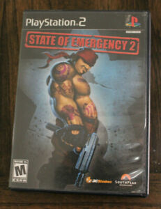 State of Emergency 2 (Sony PlayStation 2, 2006) PS2 Complete CIB Black Label