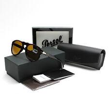 Persol Round 649 Sunglasses 24/33 Havana Brown Gold  PO0649 52 mm