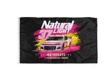 New listing Naturdays_Nascar Natural Light Beer Flag Banner 3x5ft Man Cave Decor