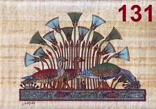 "Egyptian Egipto Ägypten , Pharaonic,Papyrus Paint size D 20x30 cm.(8""x12""), #131"