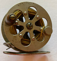 Rare Antique AF Meisselbach Amateur? Fly Reel Patented 1886 & 1889 Unlabeled