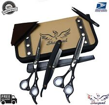 Professional Salon Hairdressing Hair Cutting Thinning Barber Scissors Set 6.5""