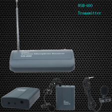 SH-600 Professional Transmitter Cable Wireless Microphone Clip On Mic Receiver