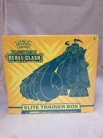 Pokemon Sword and Shield Rebel Clash Elite Trainer Box
