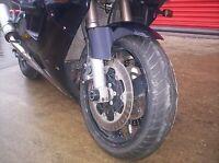 R&G Racing Fork Protectors for Kawasaki ZX7-R 1996-1997 FP0021BK BLACK