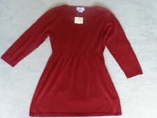 OH, BABY MOTHERHOOD MSTERNITY NWT CABLEKNIT 3/4-SL SWEATER TUNIC--M--SHIPS FREE