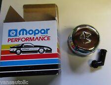Mopar Performance Chrome Breather Caps NOS PN#4349625