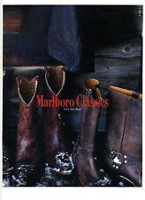 1995 : Bottes de marque Marlboro Classics – MCS (advertising)
