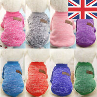 UK Knited Pet Puppy Cat Jumper Coat Hoodie Clothes Apparel Costume for Small Dog