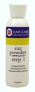 RICH HEALTH R7 EAR POWDER 12 GRAM STEP 1 REMOVES UNPLEASENT ODORS HAIR FREE SHIP