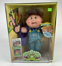RARE SEALED IN BOX Vintage Cabbage Patch Kids Snacktime Kid Doll 1995 Mattel boy
