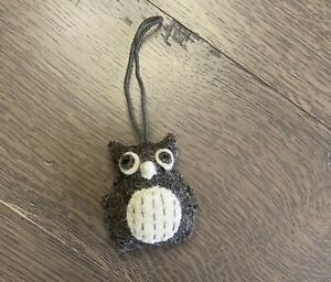 Felt Stuffed Owl Ornament